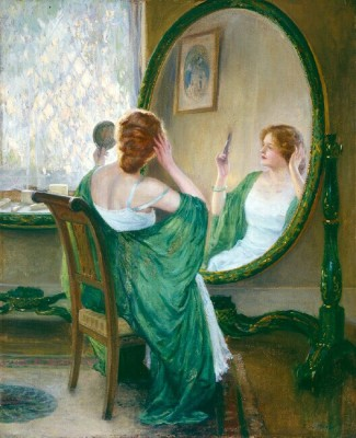 Guy Rose The Green Mirror